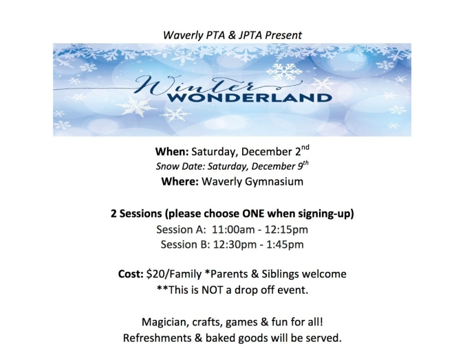 Winter Wonderland Flyer- 12-2017