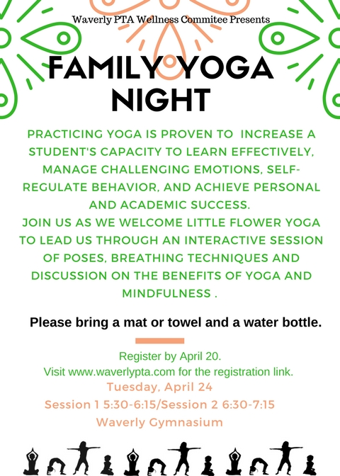 April Family Yoga Night